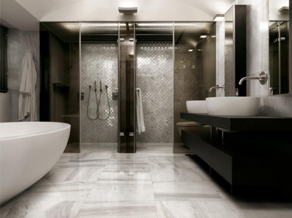 A guide to choosing the perfect flooring for your bathroom for 2 bathroom
